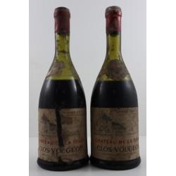 2 x Clos de Vougeot 1947