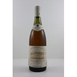 Chablis 1er Cru Beauroy 1990